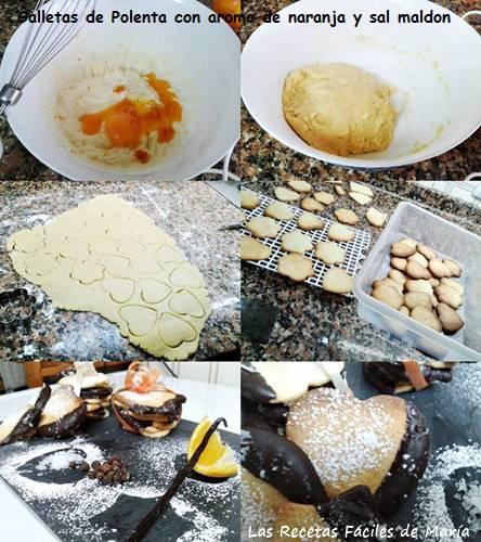 galletas de polenta con aroma de de naranja y sal maldon receta paso a paso