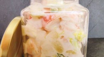 receta Ensalada de Piña y Frutos del Mar