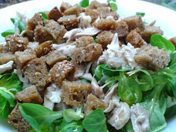 receta Ensalada de codornices en Escabeche y canógicos