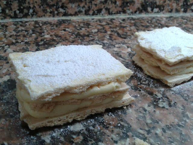 Pasteles Rusos de Alfaro presentación Las Recetas Fáciles de María