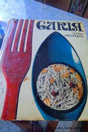 libro de cocina vascongada Guria