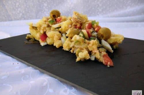 receta de ensalada campera o de verano con patatas