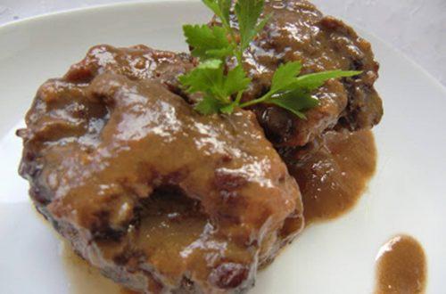 Rabo de Toro al Vino Tinto receta de cocina