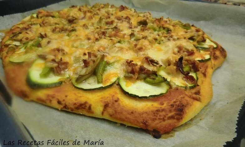pizza Jamie Oliver a mi manera
