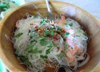 receta Ensalada Yam Woon Sen Tailandia en casa