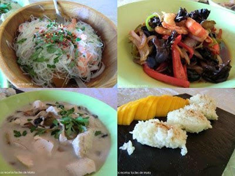 recetas de comida Tailandesa Tailandia en Casa
