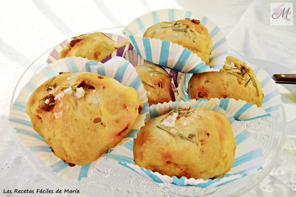 Muffins de Chorizo y Romero receta casera