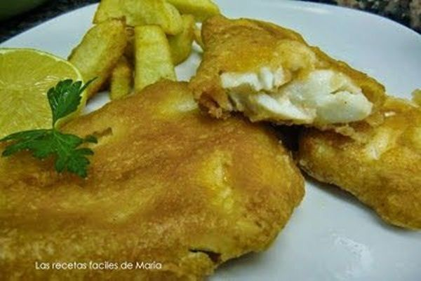 fish & chips o bacalao fresco rebozado