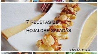 7 Recetas de hojaldre saladas