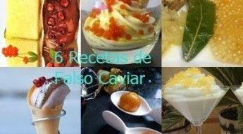 Falso caviar o como hacer fácil lo que parece difícil