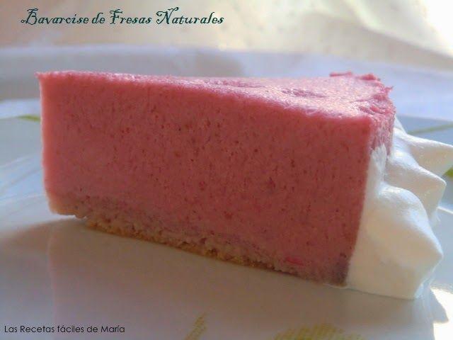 Bavaroise de Fresas Naturales