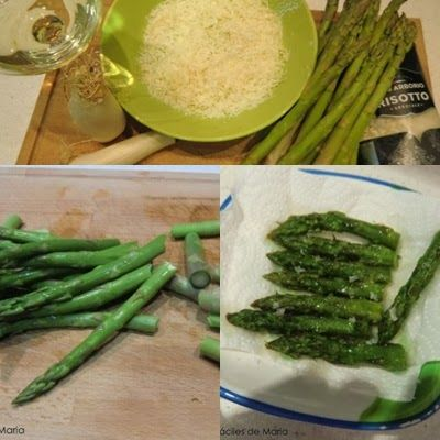 Risotto de Trigueros y manchego ingredientes