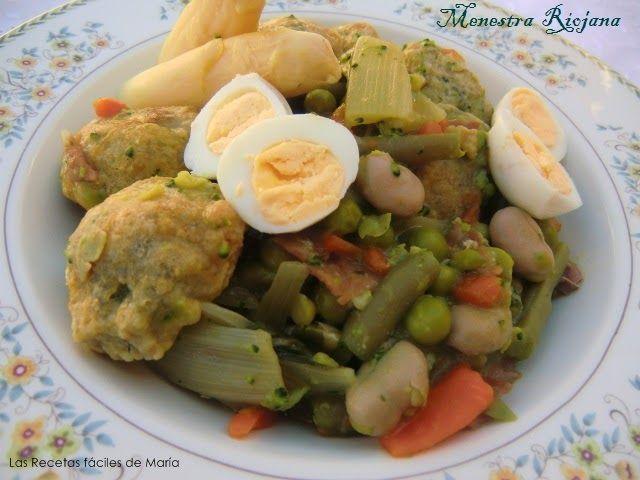 Menestra Riojana receta