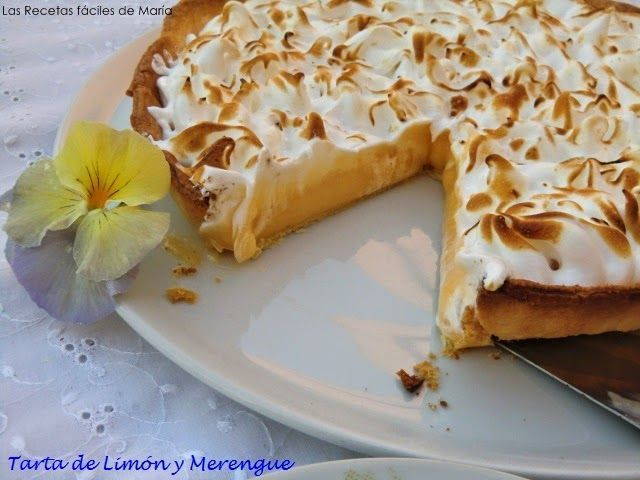 Tarta de Limón y Merengue o Lemon Pie
