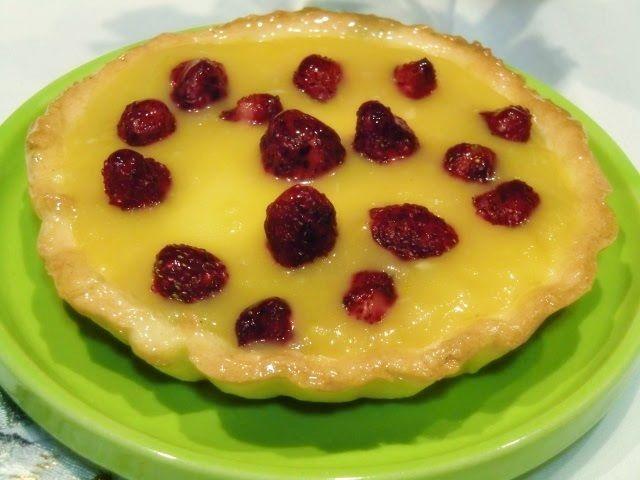 Tartaleleta de fresas Mini y Crema de Limón