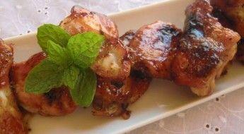 receta para niños alitas de pollo asadas con miel