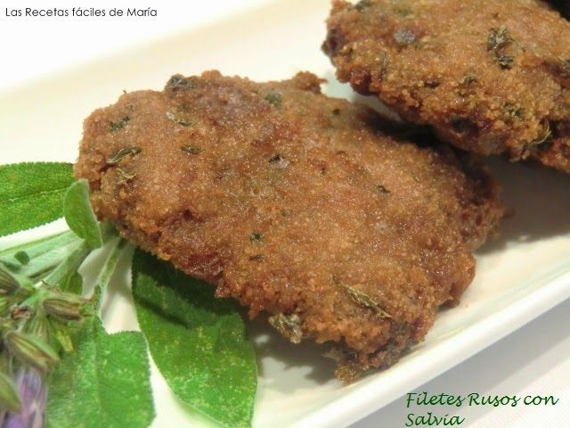 Filetes Rusos con Salvia