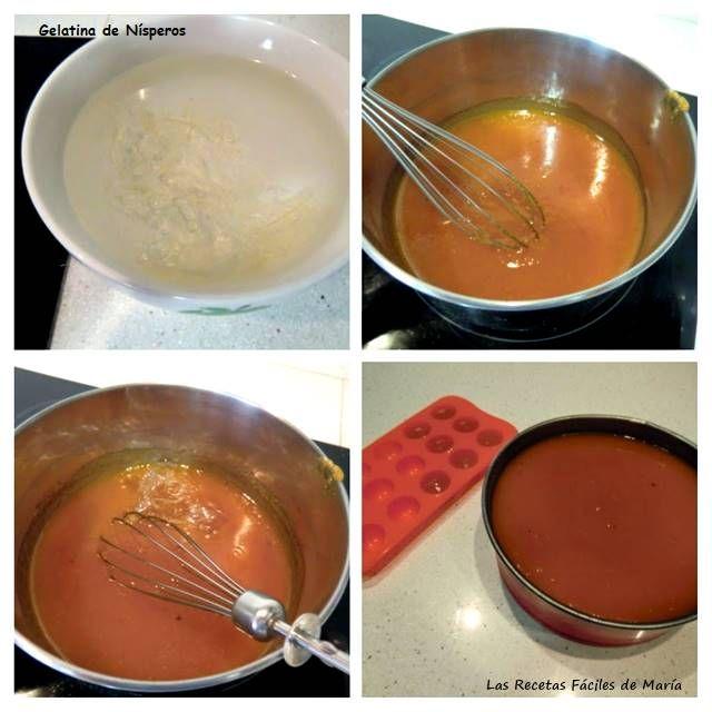 gelatina de nísperos