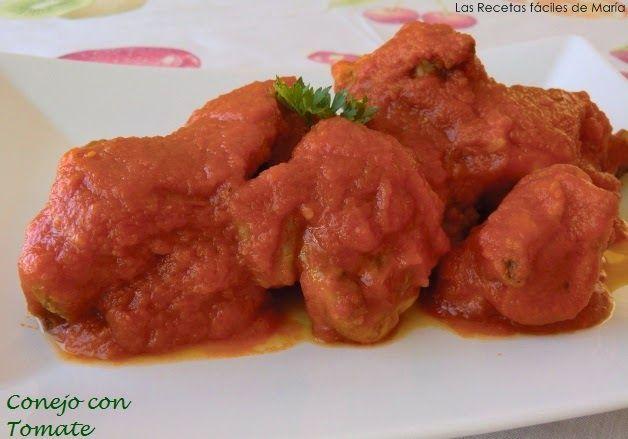 receta de conejo con tomate