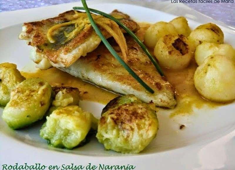 Cocinar Rodaballo | Las Recetas Faciles De Mariarodaballo En Salsa De Naranja Las