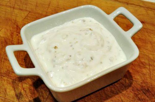 Salsa de yogur o Tzatziki