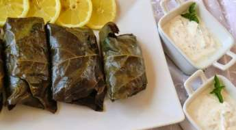receta sarmas armenios o dolmas griegos