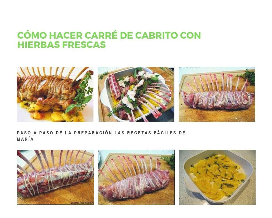 Cómo hacer Carré de Cabrito con Hierbas frescas