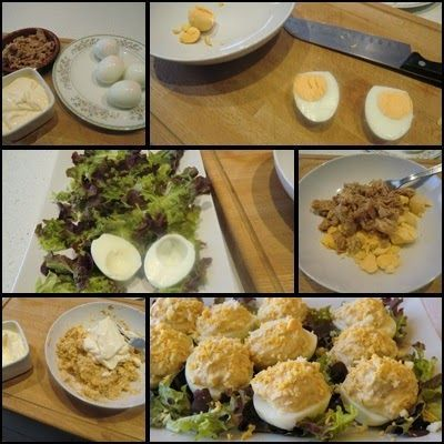 huevos rellenos como se hacen