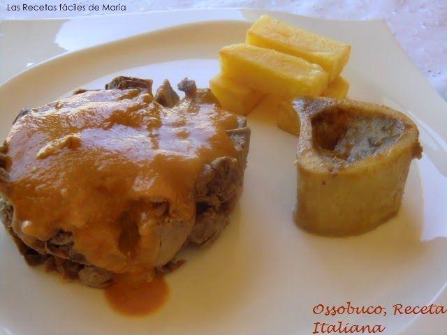 Ossobuco receta italiana Las Recetas Fáciles de María