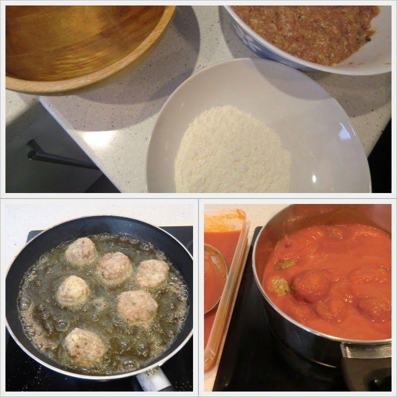 albóndigas con tomate receta fácil paso 2