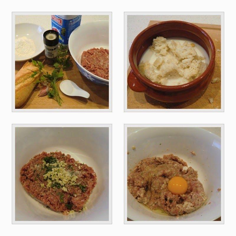 albóndigas con tomate receta fácil paso 1
