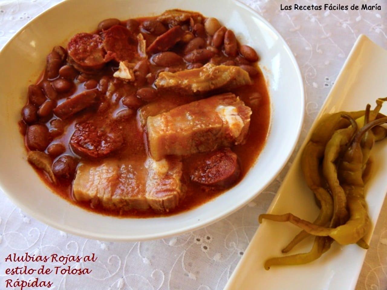 Alubias de Tolosa Receta en Vídeo sin Gluten