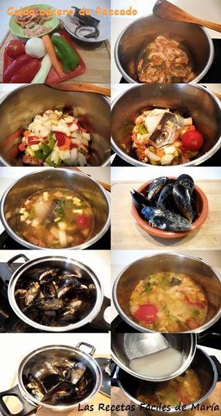 caldo de pescado casero