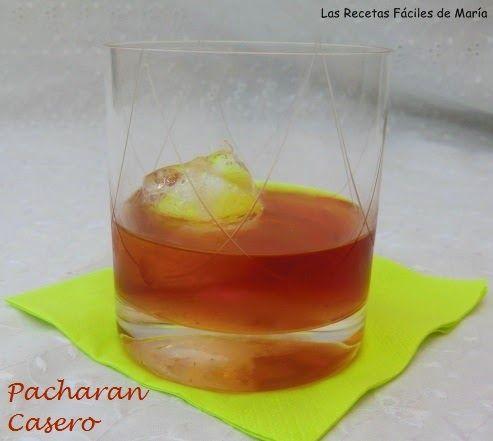 Como hacer Pacharán Casero receta