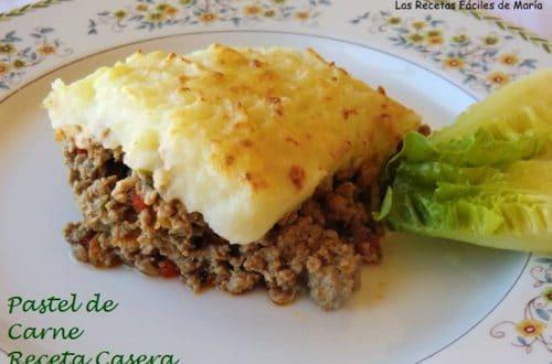 Pastel de Carne receta casera