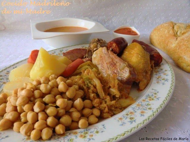 receta Cocido Madrileño de mi Madre el mejor cocido