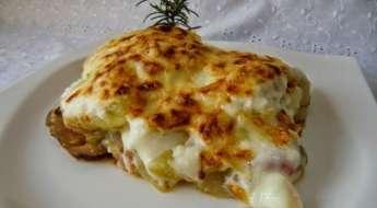 musaka vegetariana griega Las Recetas Fáciles de María