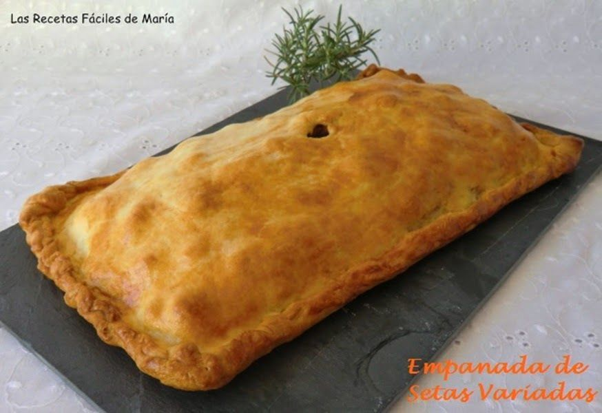 Empanada de setas variadas