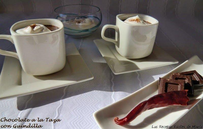 Receta de Chocolate a la Taza con Guindilla
