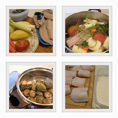 Caldo de pescado para Guiso de Merluza con Patatas