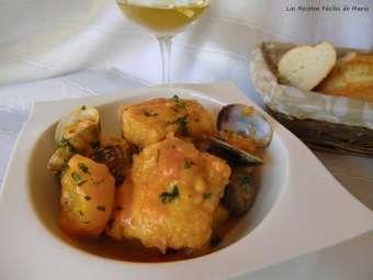 receta guiso de merluza con patatas