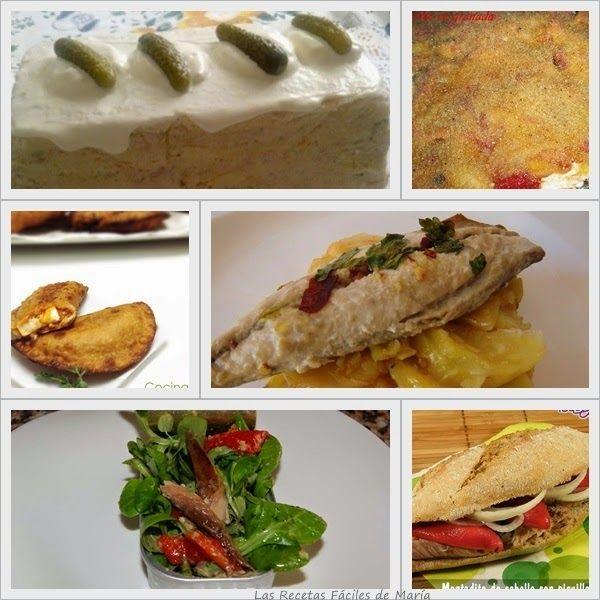 recopilación recetas fáciles y sencillas de caballa y atún