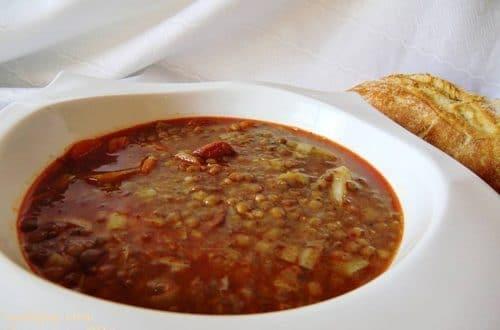 Lentejas con Chorizo en Olla GM