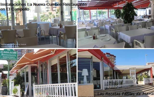 La Nueva Cumbre Restaurante instalaciones