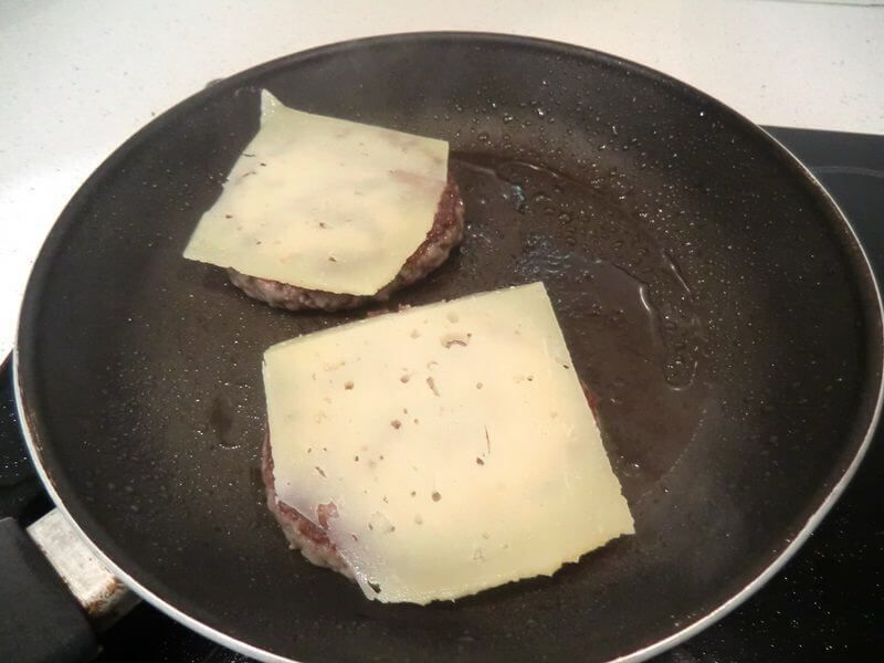 hamburguesa ibérica queso