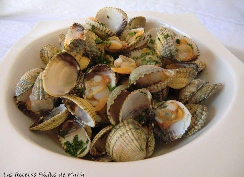 Las recetas f ciles de mar aberberechos al vino blanco - Como cocinar berberechos ...