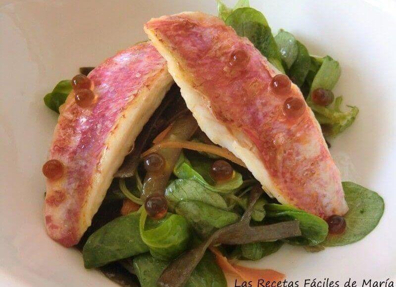 espagueti de mar con salmonetes para ensaladas originales selección de recetas