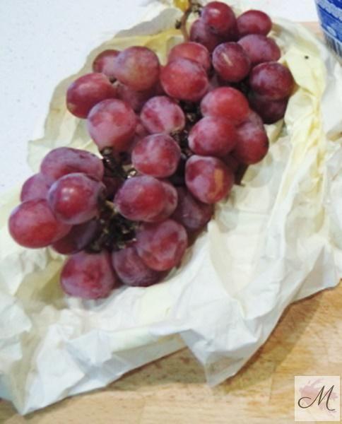 Uvas del Vinalopo-Panna-Cotta-de-chocolate-blanco-y-uvas-del-Vinalopo