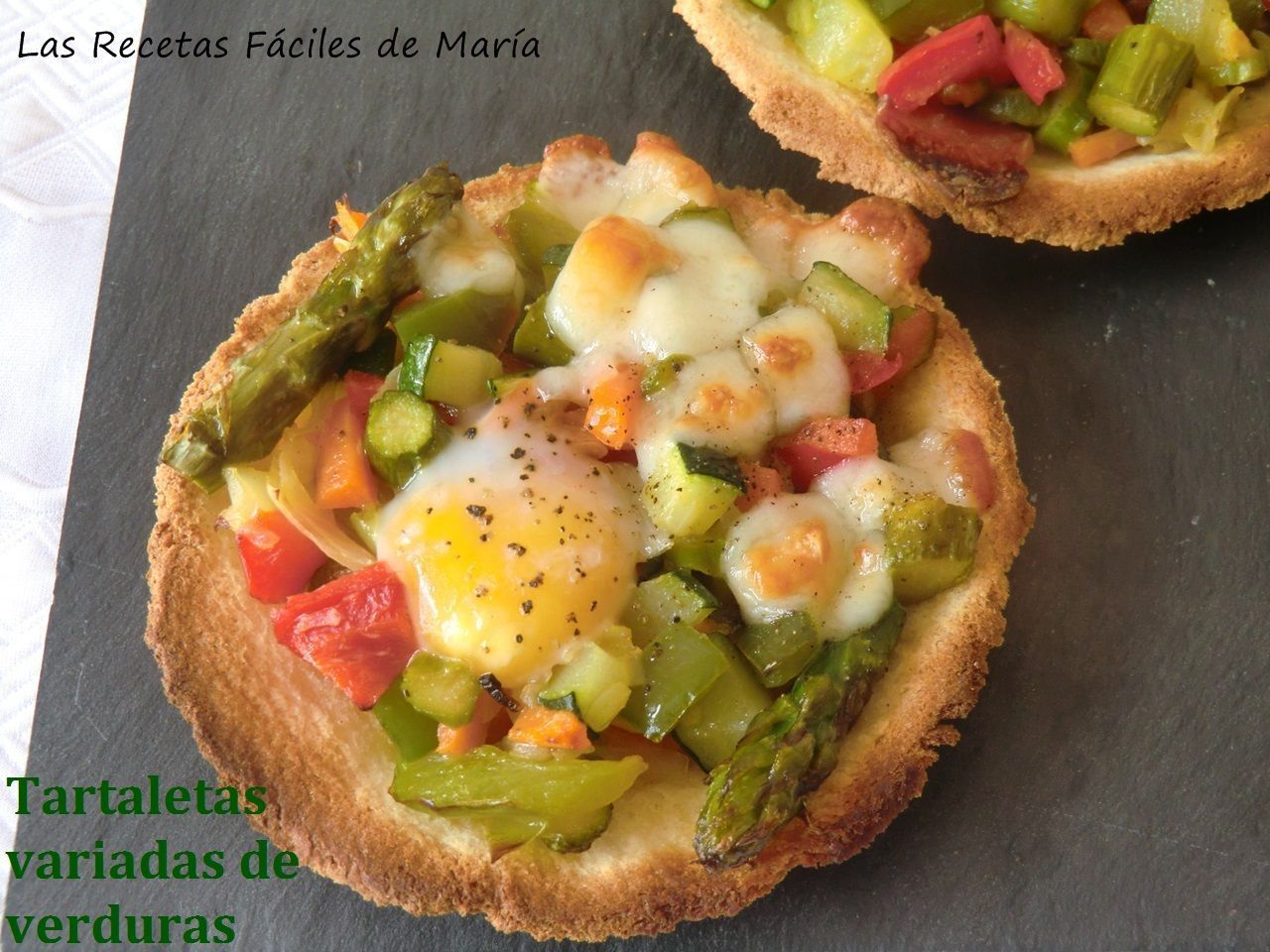 Tartaletas Variadas De Verduras Las Recetas Fáciles De María