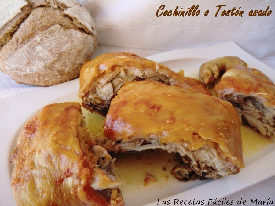 Las recetas f ciles de mar acochinillo o lech n asado for Lechon al horno de cocina